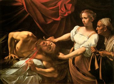 Michelangelo Caravaggio, Judith onthoofdt Holofernes, 1598-99, Galleria Nazionale d'Arte Antica, Rome